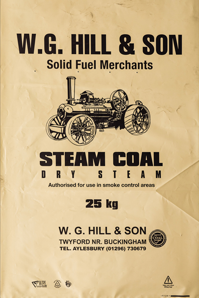 WG Hill Steam Coal Image